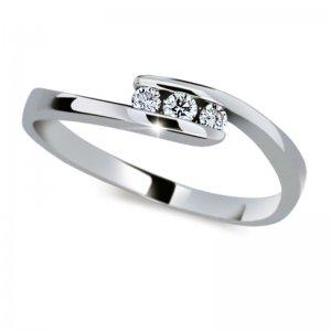 Zásnubní prsten se zirkony ZP2072