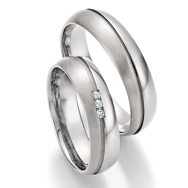 Titanové snubní prsteny SP-20150