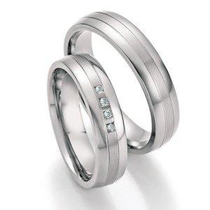 Titanové snubní prsteny SP-20070