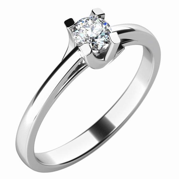 Zásnubní prsten se zirkonem ZP-10764