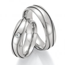 Titanové snubní prsteny SP-20130