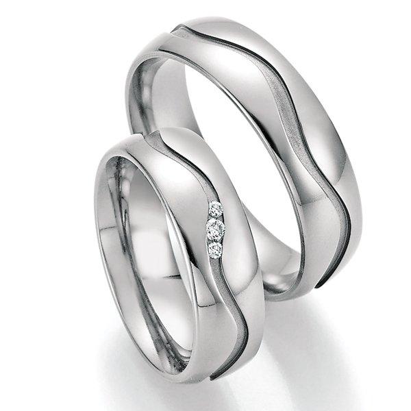 Titanové snubní prsteny SP-20090