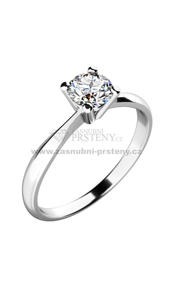 Zasnubni Prsten Se Zirkonem Zp 10770 Zasnubni Prsteny Cz