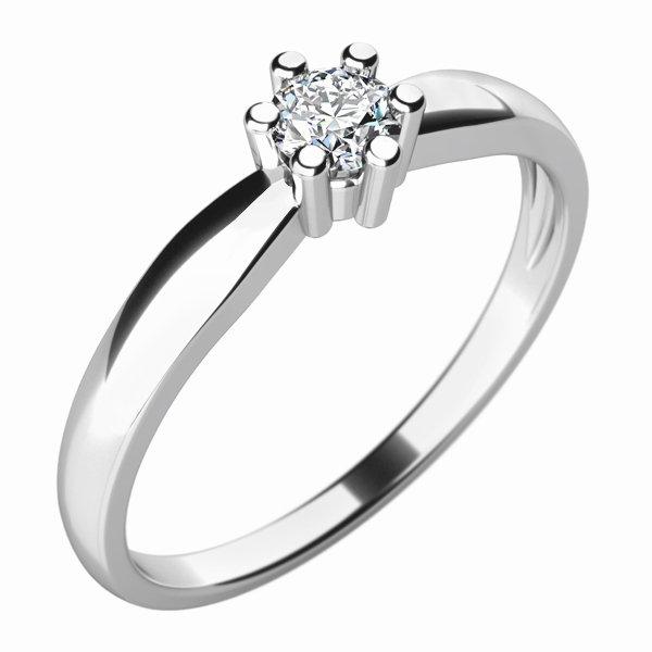 Zásnubní prsten se zirkonem ZP-10768