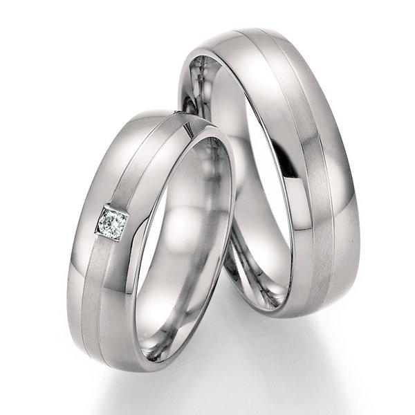 Titanové snubní prsteny SP-20110