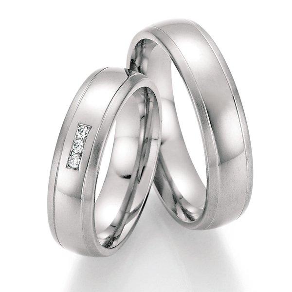 Titanové snubní prsteny SP-20050