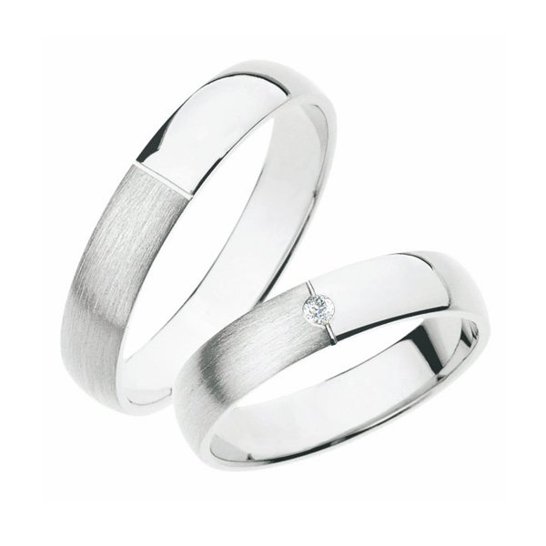 SP-244Ag Stříbrné snubní prsteny SP-244-Ag