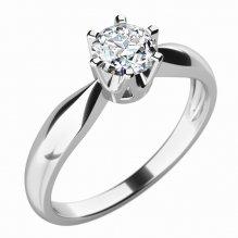 Zásnubní prsten se zirkonem ZP-10763