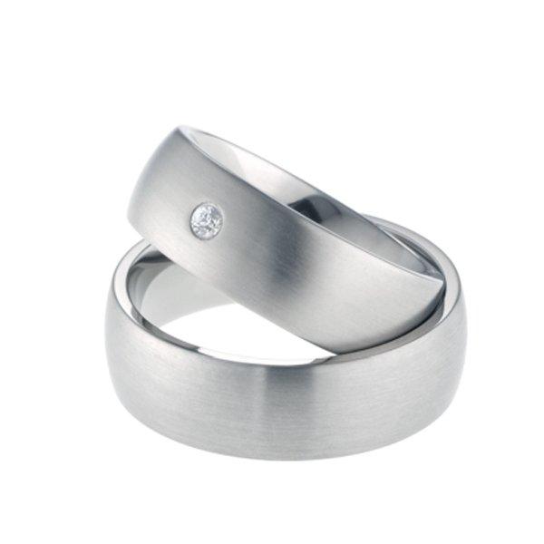 Titanové snubní prsteny TR-88010