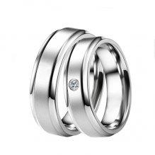 ST-88004 Ocelové snubní prsteny ST-88004