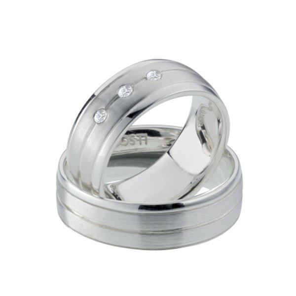 Titanové snubní prsteny TR-88019