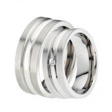 Titanové snubní prsteny TR-88003