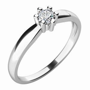 Zásnubní prsten s diamantem ZP-10768D