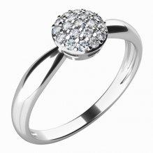 Zásnubní prsten s diamanty ZP-10767D