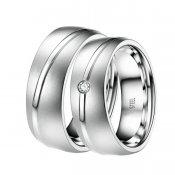 Ocelové snubní prsteny ST-88058