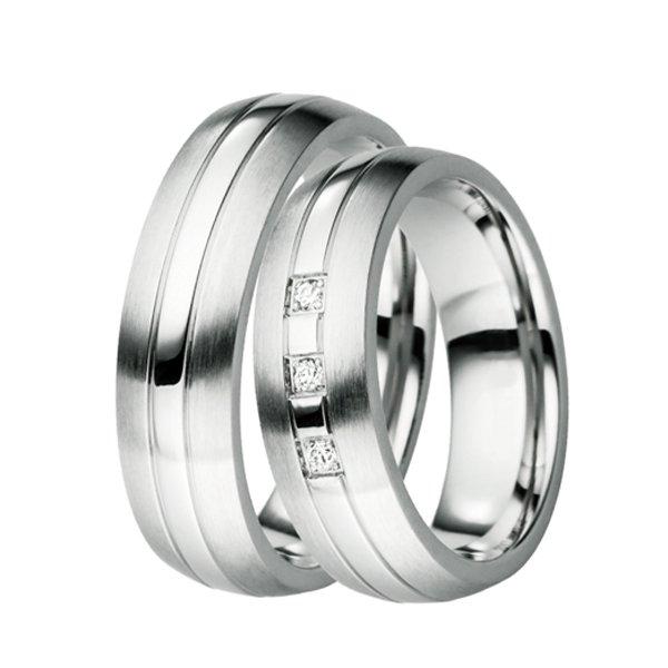 ST-88039 Ocelové snubní prsteny ST-88039