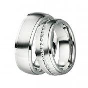 Ocelové snubní prsteny ST-88073
