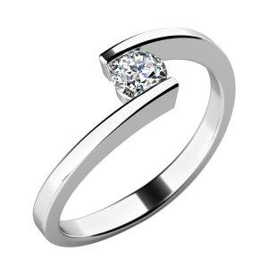Zásnubní prsten s diamantem ZP-10762D