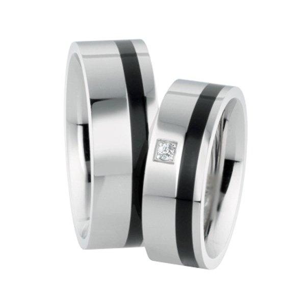 ST-88070 Ocelové snubní prsteny ST-88070