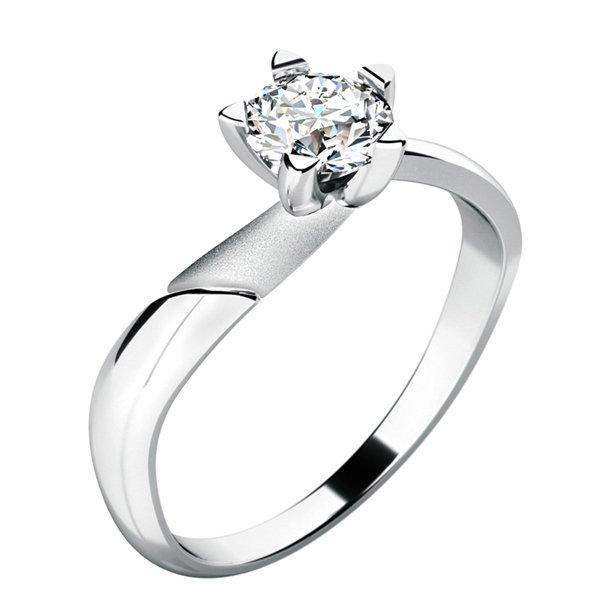 Zásnubní prsten se zirkonem ZP-10786