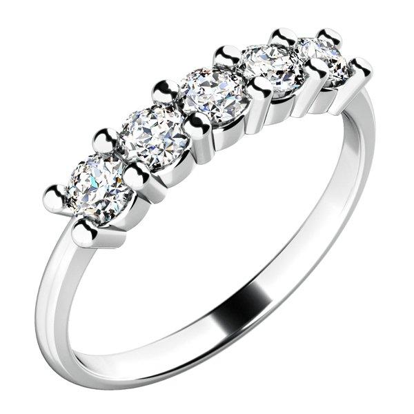 Zásnubní prsten s diamanty ZP-10773D