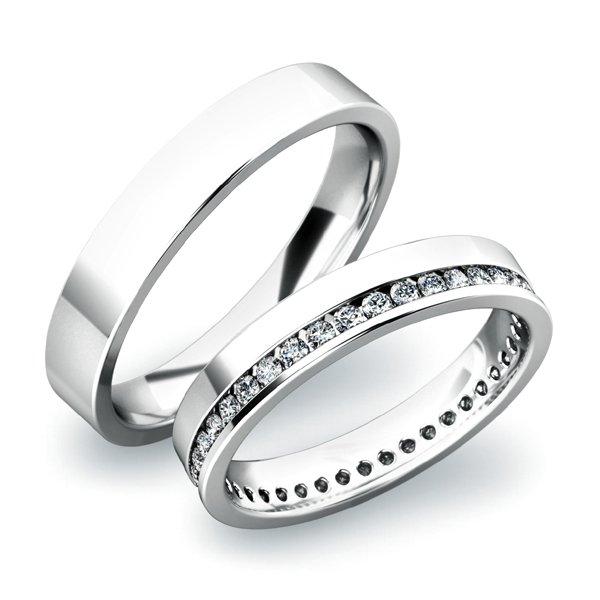 Snubní prsteny ze zlata SP-61036B