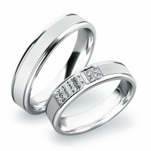 Snubní prsteny ze zlata SP-61020B