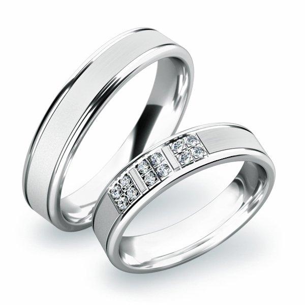SP-61020 Snubní prsteny ze zlata SP-61020B