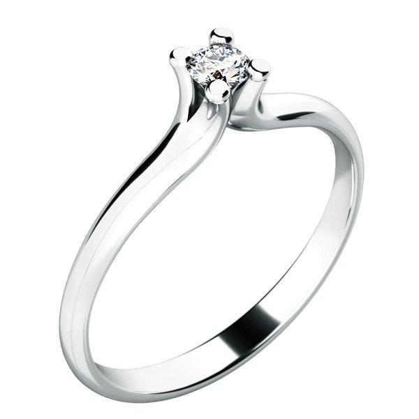 Zásnubní prsten se zirkonem ZP-10782