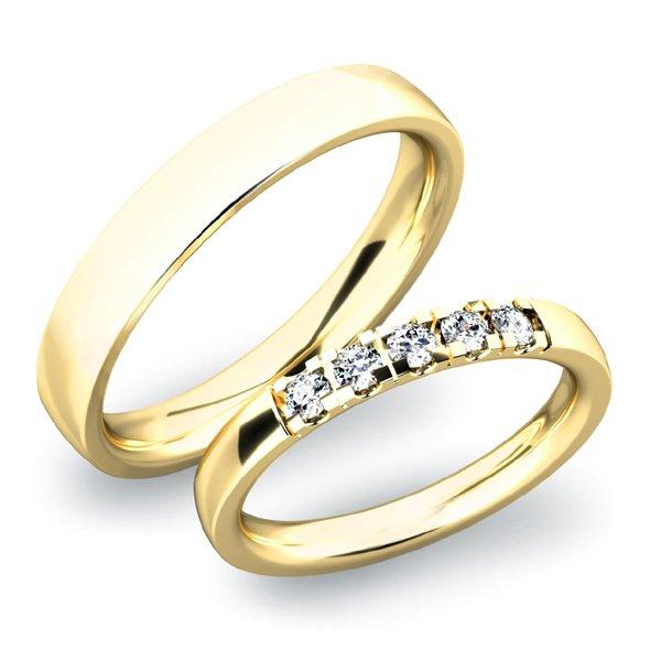 Snubní prsteny SP-61030Z