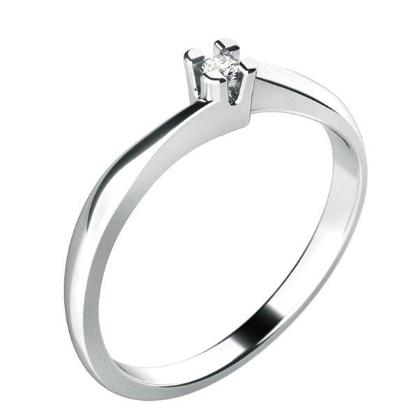 Zásnubní prsten s diamantem ZP-10780D