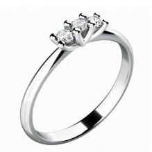 Zásnubní prsten se zirkony ZP-10781