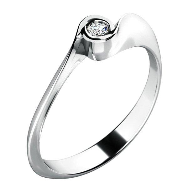 Zásnubní prsten s diamantem ZP-10783D