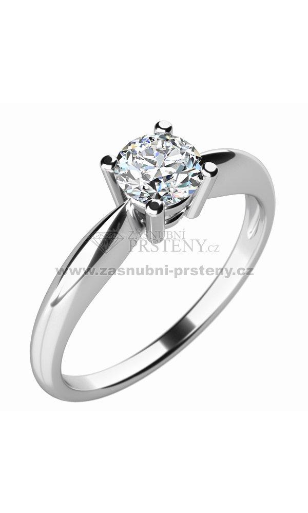 Zasnubni Prsten S Diamantem Zp 10702d Zasnubni Prsteny Cz