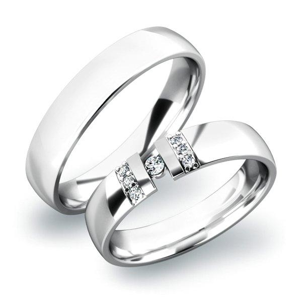 SP-61017 Zlaté snubní prsteny SP-61017B
