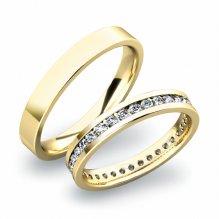 Snubní prsteny ze zlata SP-61032Z