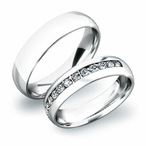 Zlaté snubní prsteny SP-61024