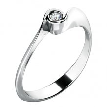 Zásnubní prsten se zirkonem ZP-10783