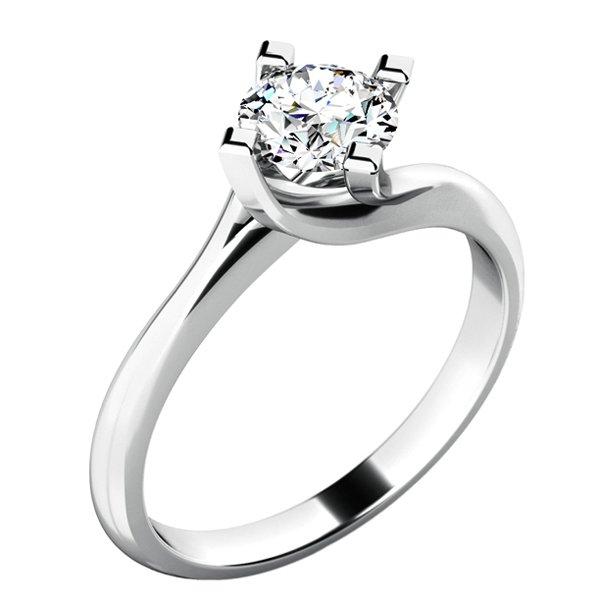 Zásnubní prsten s diamantem ZP-10779D