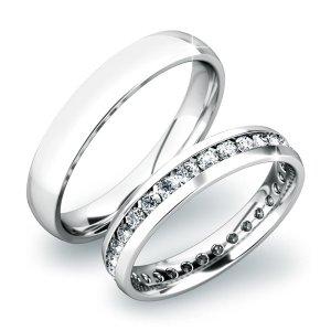 Snubní prsteny ze zlata SP-61033B