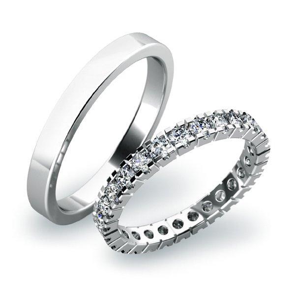 Snubní prsteny ze zlata SP-61023B