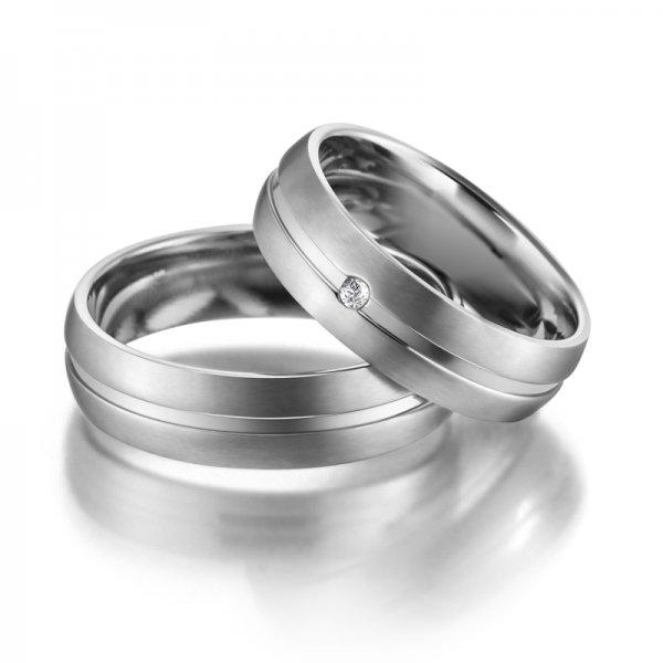 Titanové snubní prsteny SP-TI-002