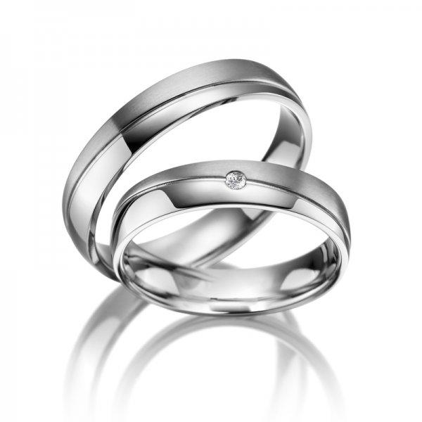 Titanové snubní prsteny SP-TI-001