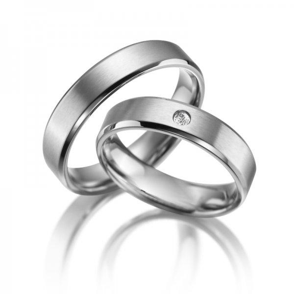 Titanové snubní prsteny SP-TI-019