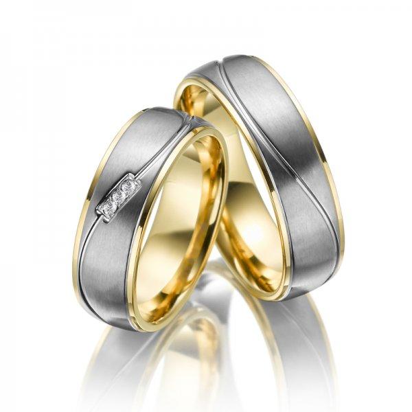 Titanové snubní prsteny SP-TI-005