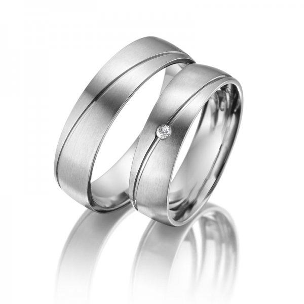 Titanové snubní prsteny SP-TI-009