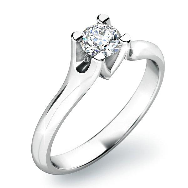 Zásnubní prsten s diamantem ZP-10805D