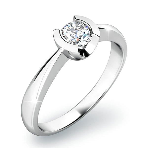 Zásnubní prsten se zirkonem ZP-10809