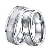 Ocelové snubní prsteny ST-88088