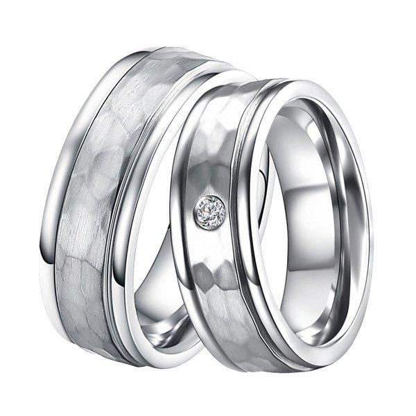 Ocelové snubní prsteny ST-88088 ST-88088